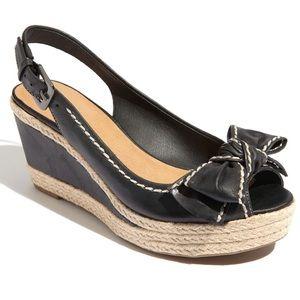 NWOT Franco Sarto Olympia Espadrille Wedge Sandals